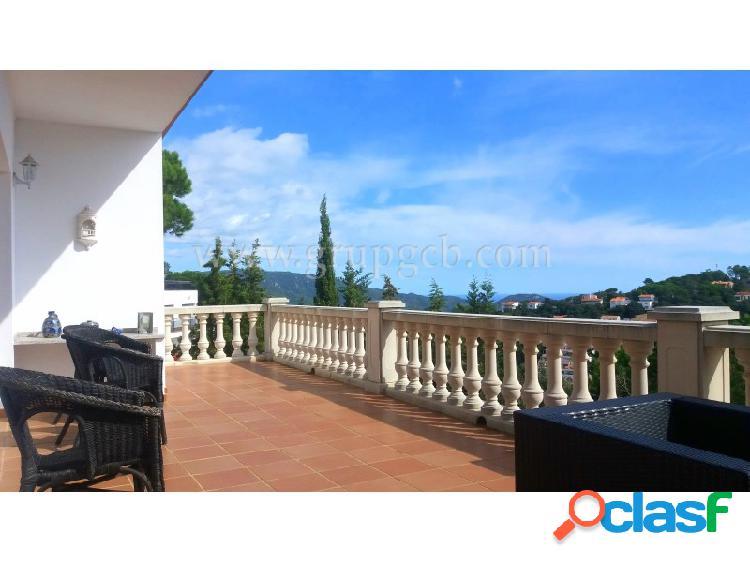 Casa en Serra Brava con vistas sobre el Mediterráneo
