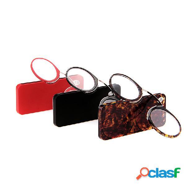 Clip Nariz Gafas de lectura TR90 Antideslizante Espejo de