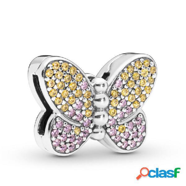 Clip-charm Pandora Reflexions Mariposa 797864czm