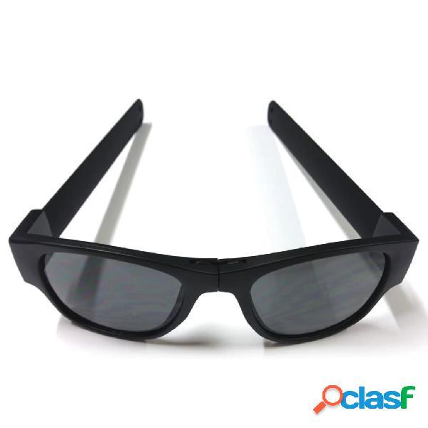 Clix Gafas de sol plegables negras CLI003
