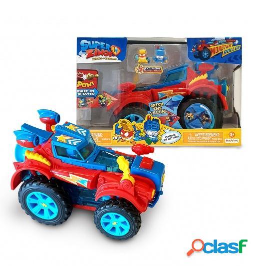 Coche Monster Roller Heroes Super Zings