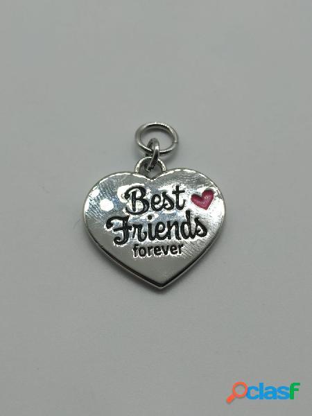 Colgante charm Best friends forever