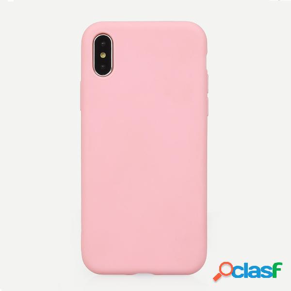 Color sólido Iphone Caso