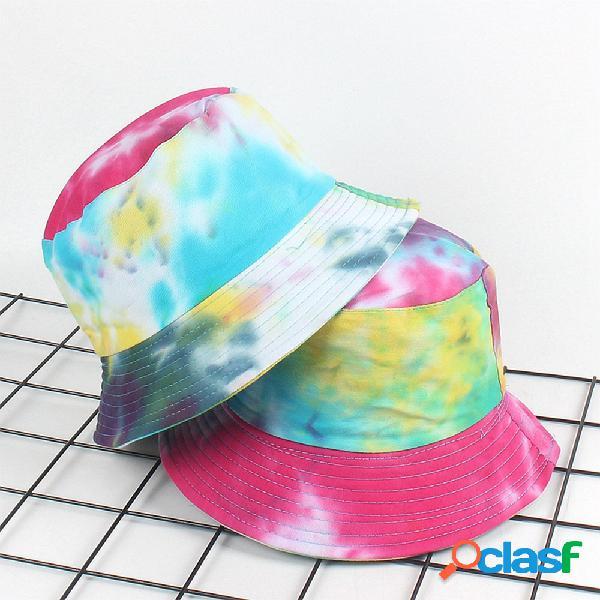 Colorful Graffiti Fisherman Sombrero Lavabo solar Sombrero