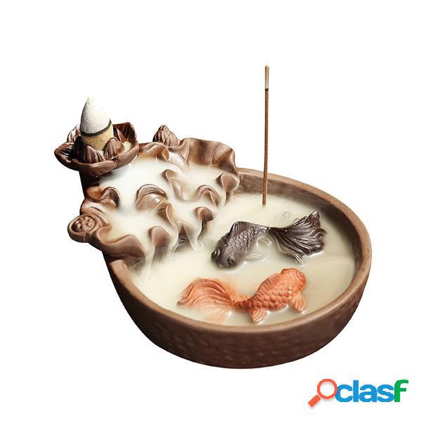 Congelador de porcelana de pescado Conector de quemador de