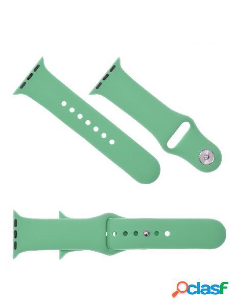 Correa Reloj para Apple Watch 38 mm Verde Menta