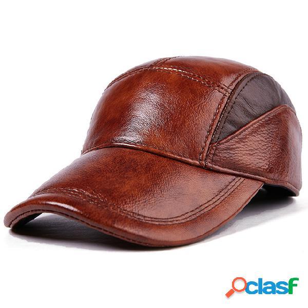 Cuero Sombrero Hombre Nuevo Cuero Sombrero Hombre Cuero