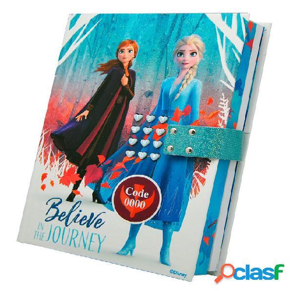 Diario con clave y sonido Frozen 2