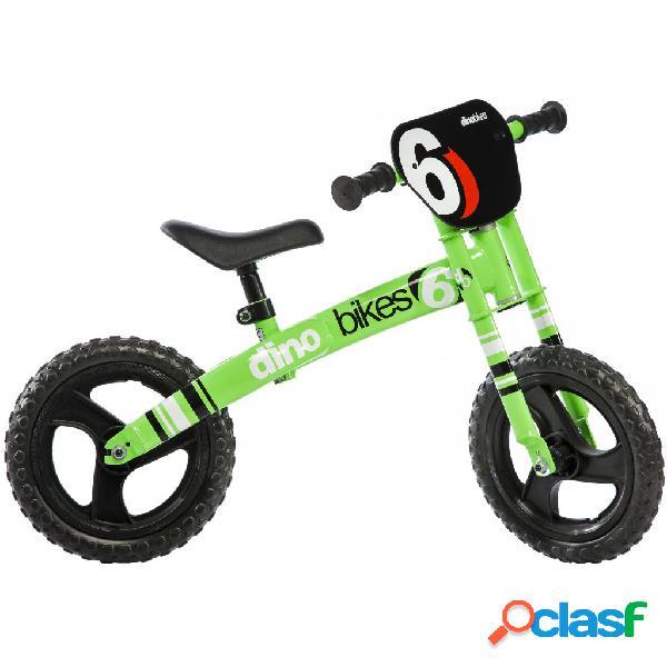 Dino Bikes Bicicleta de equilibrio Runner verde DINO356002