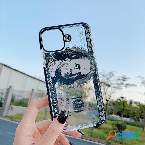 Dollar Patrón Teléfono transparente Caso para Iphone