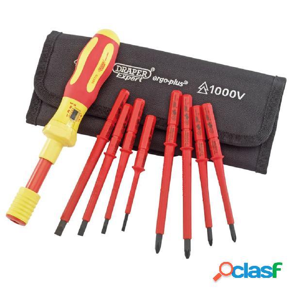 Draper Tools Destornilladores Expert dinamométricos VDE 9