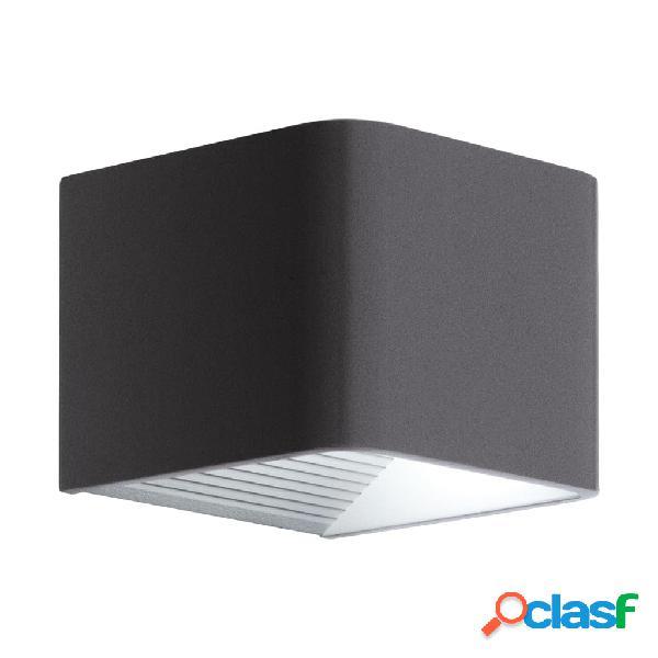 EGLO Lámpara LED de pared para jardín Doninni 1 gris