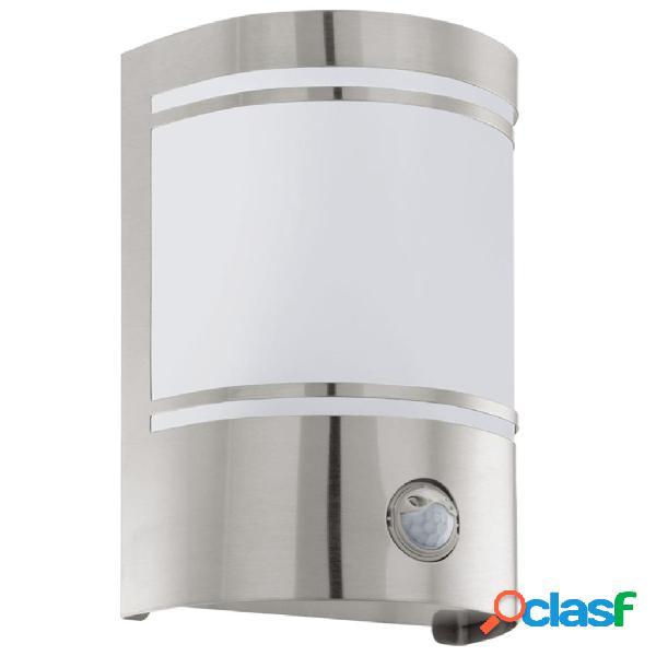 EGLO Lámpara de pared exterior con sensor Cerno 40 W