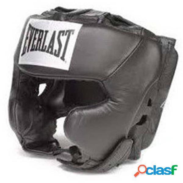 EVERLAST Casco de boxeo Pro Traditional negro talla L/XL