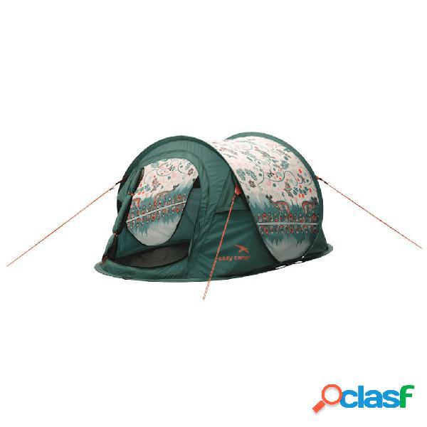 Easy Camp Tienda de campaña desplegable Daybreak 200 verde