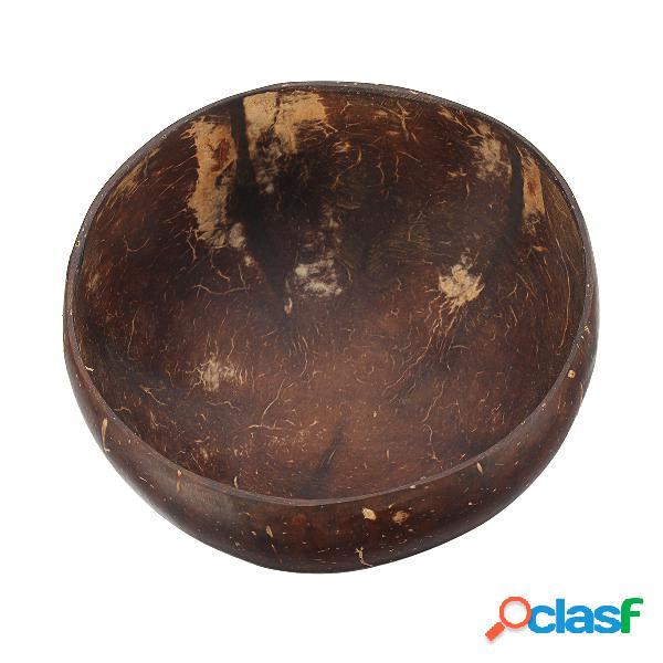 El tazón de fuente natural del coco del cuenco de Shell del