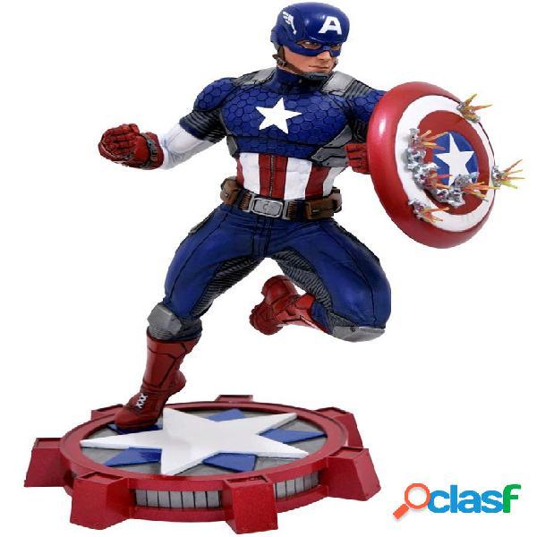 Estatua Capitan America Marvel Gallery 23cm