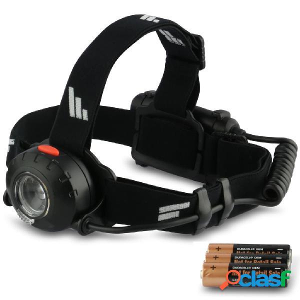 FAVOUR Linterna de cabeza FOCO negra H0431