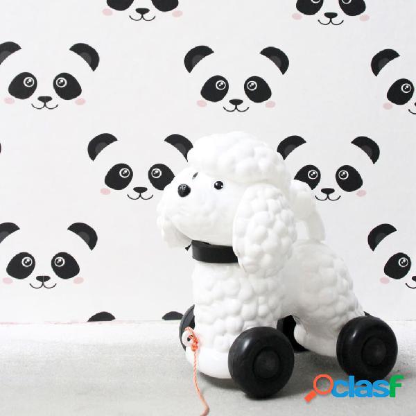 Fabulous World Papel de pared Panda blanco 67100