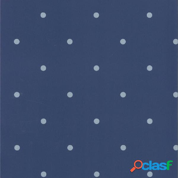 Fabulous World Papel de pared diseño Dots azul claro y