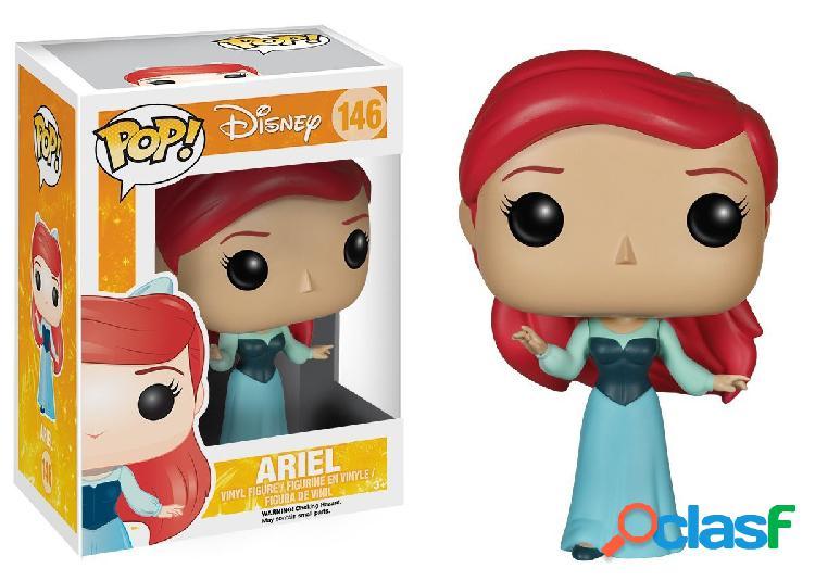 Figura Funko Pop Ariel con vestido azul - La Sirenita