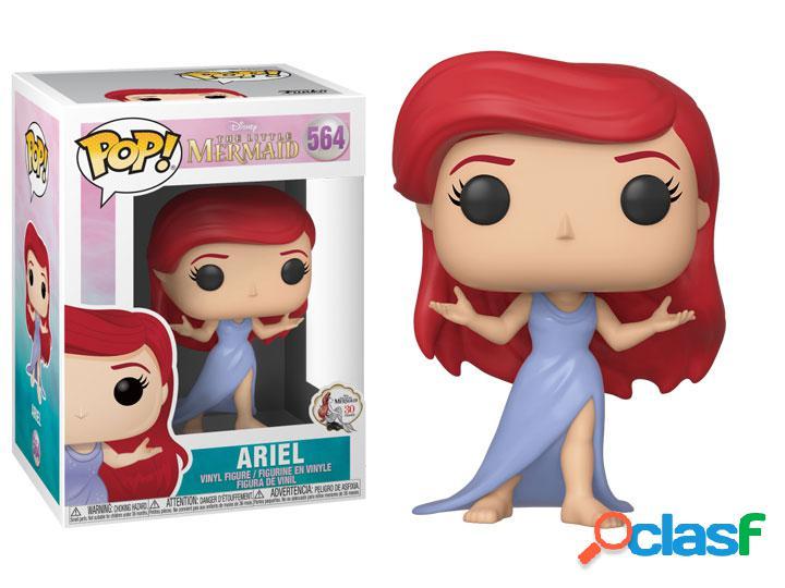 Figura Funko Pop Ariel vestido morado La Sirenita