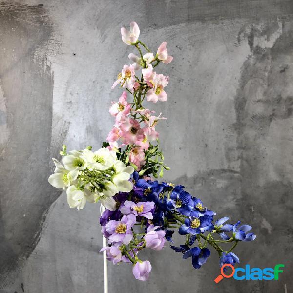 Flores artificiales Paño de seda Flying Swallow Flores