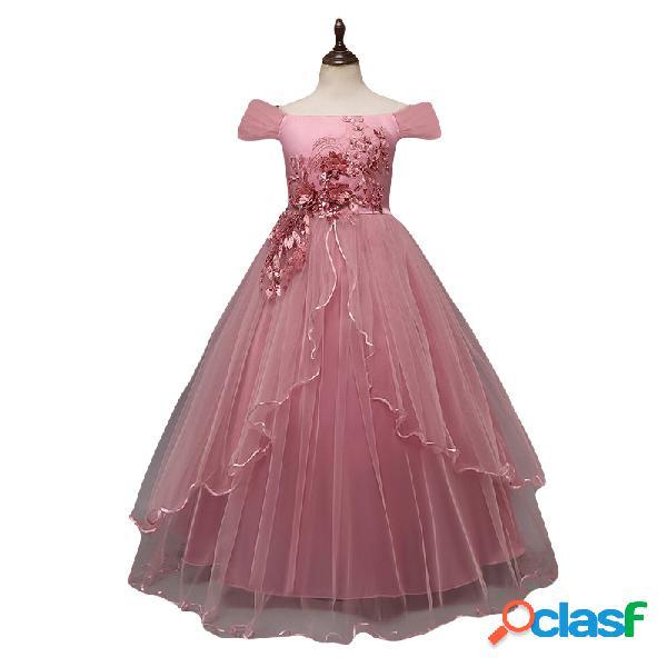 Flores para niñas vestidos para niños vestido de concurso