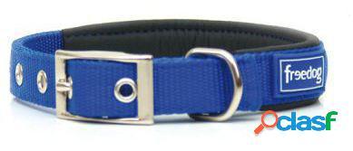 Freedog Collar Ergo de color Azul para su mascota. 2.5x55 cm