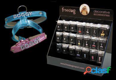 Freedog Collar piel 20mm x 45cm