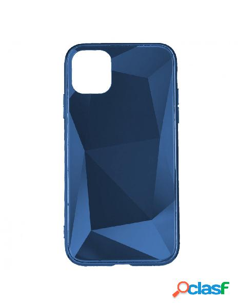 Funda Cristal Diamond Azul para iPhone 11