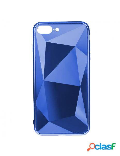 Funda Cristal Diamond Azul para iPhone 8 Plus