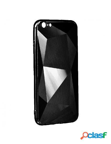 Funda Cristal Diamond Negra para iPhone 7