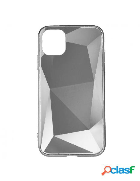 Funda Cristal Diamond Plata para iPhone 11 Pro