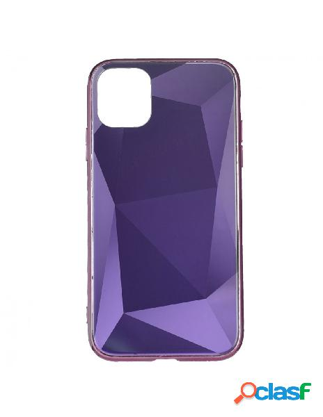 Funda Cristal Diamond Rosa para iPhone 11 Pro