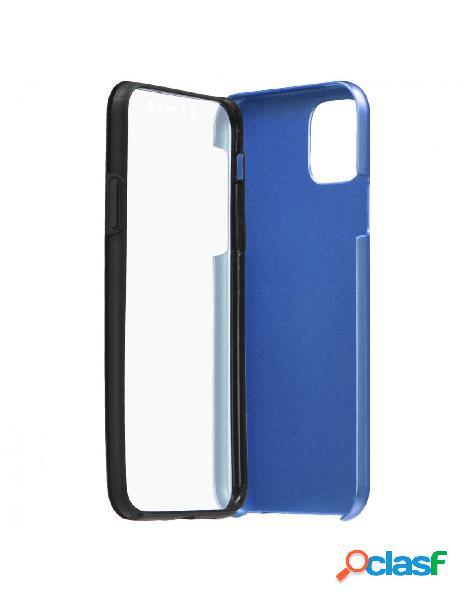 Funda Cromada con tapa Azul para iPhone 11 Pro