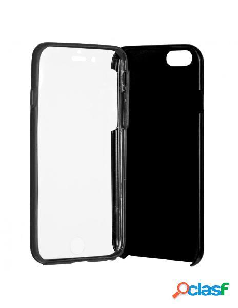 Funda Cromada con tapa Negro iPhone 6 Plus