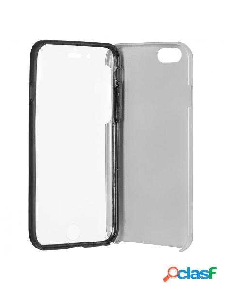 Funda Cromada con tapa Plata iPhone 6 Plus