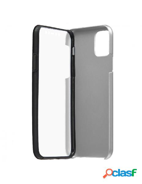 Funda Cromada con tapa Plata para iPhone 11 Pro