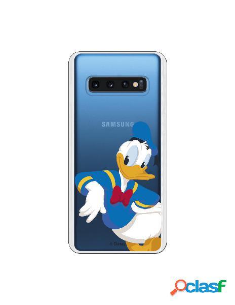 Funda Disney Donald clear para Samsung Galaxy S10