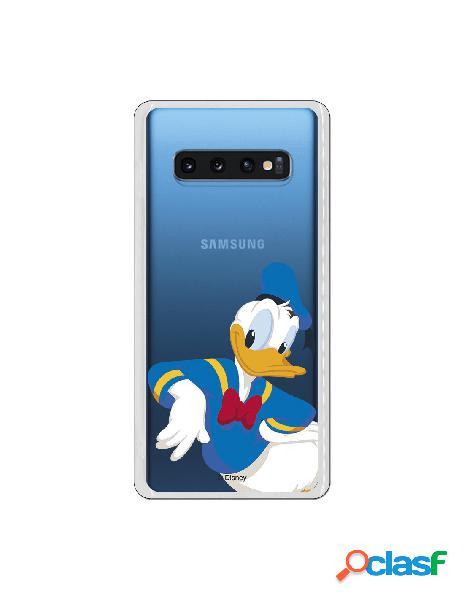 Funda Disney Donald clear para Samsung Galaxy S10 Plus