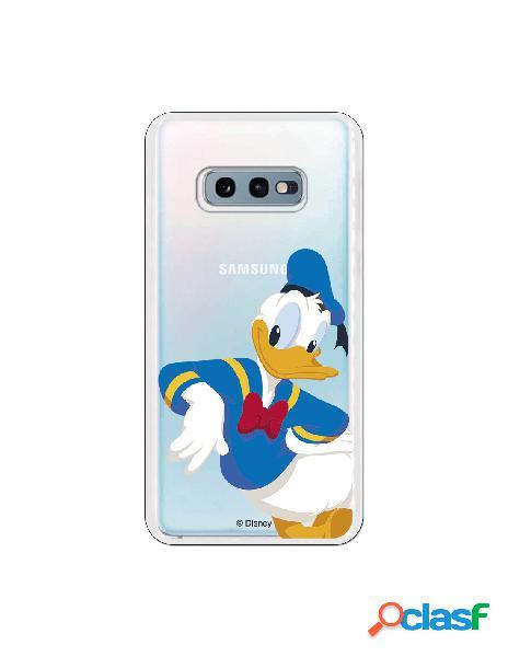 Funda Disney Donald clear para Samsung Galaxy S10e
