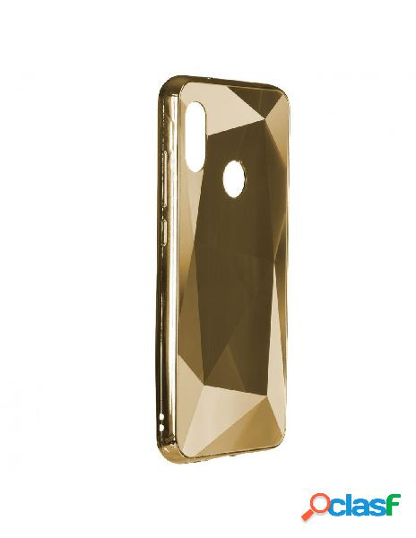 Funda Geométrica Diamond Oro para Xiaomi Mi A2 Lite