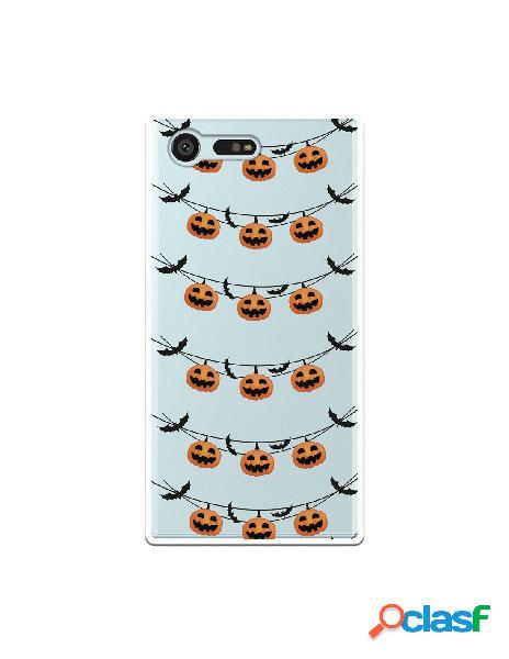 Funda Halloween Calabazas para Sony Xperia X Compact