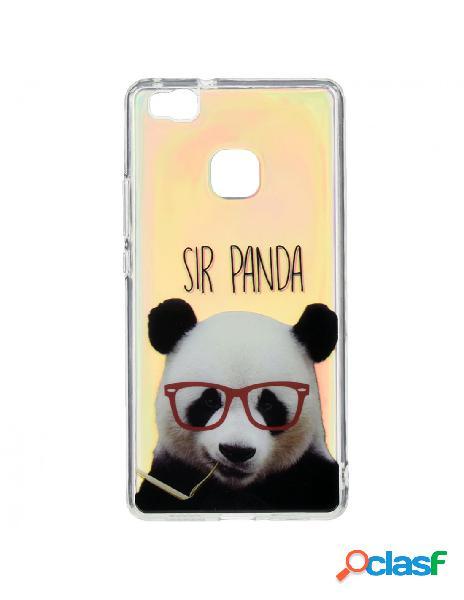 Funda Iridiscente Sir Panda para Huawei P9 Lite