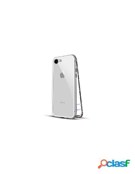 Funda Magnética 360º Plata iPhone 6 Plus