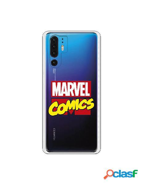 Funda Marvel Comics para Huawei P30 Pro