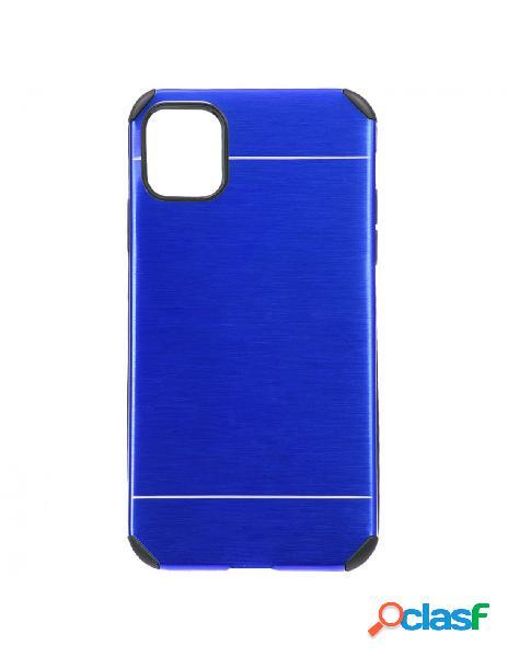 Funda Metalizada Azul para iPhone 11 Pro