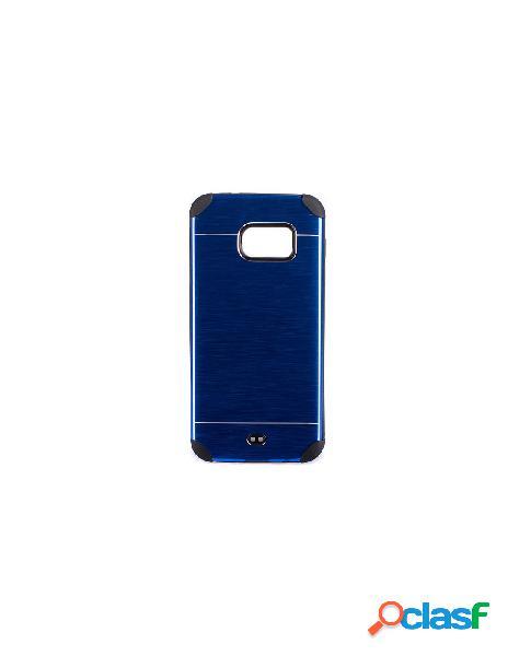 Funda Metalizada Doble Azul Samsung Galaxy S7 Edge