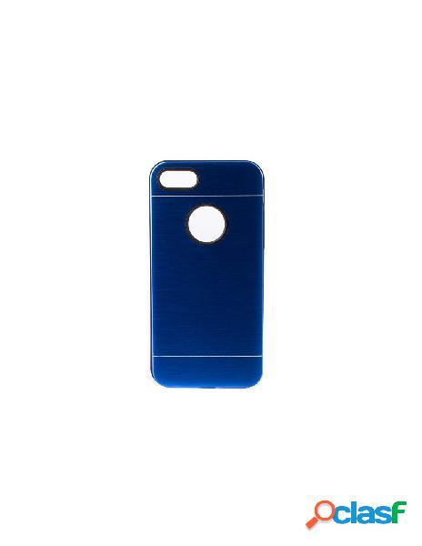 Funda Metalizada Doble Azul iPhone 6S Plus